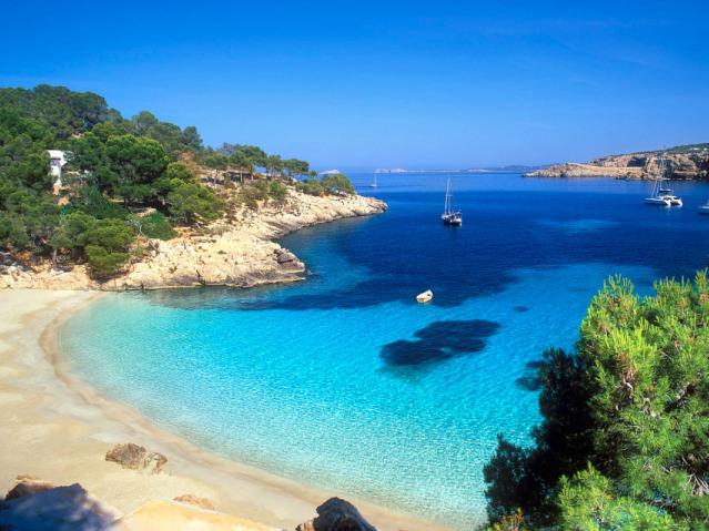 Yogavakantie op Ibiza, het strand