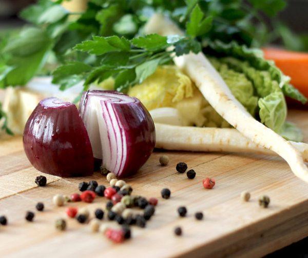 Biologisch eten vers en gezond