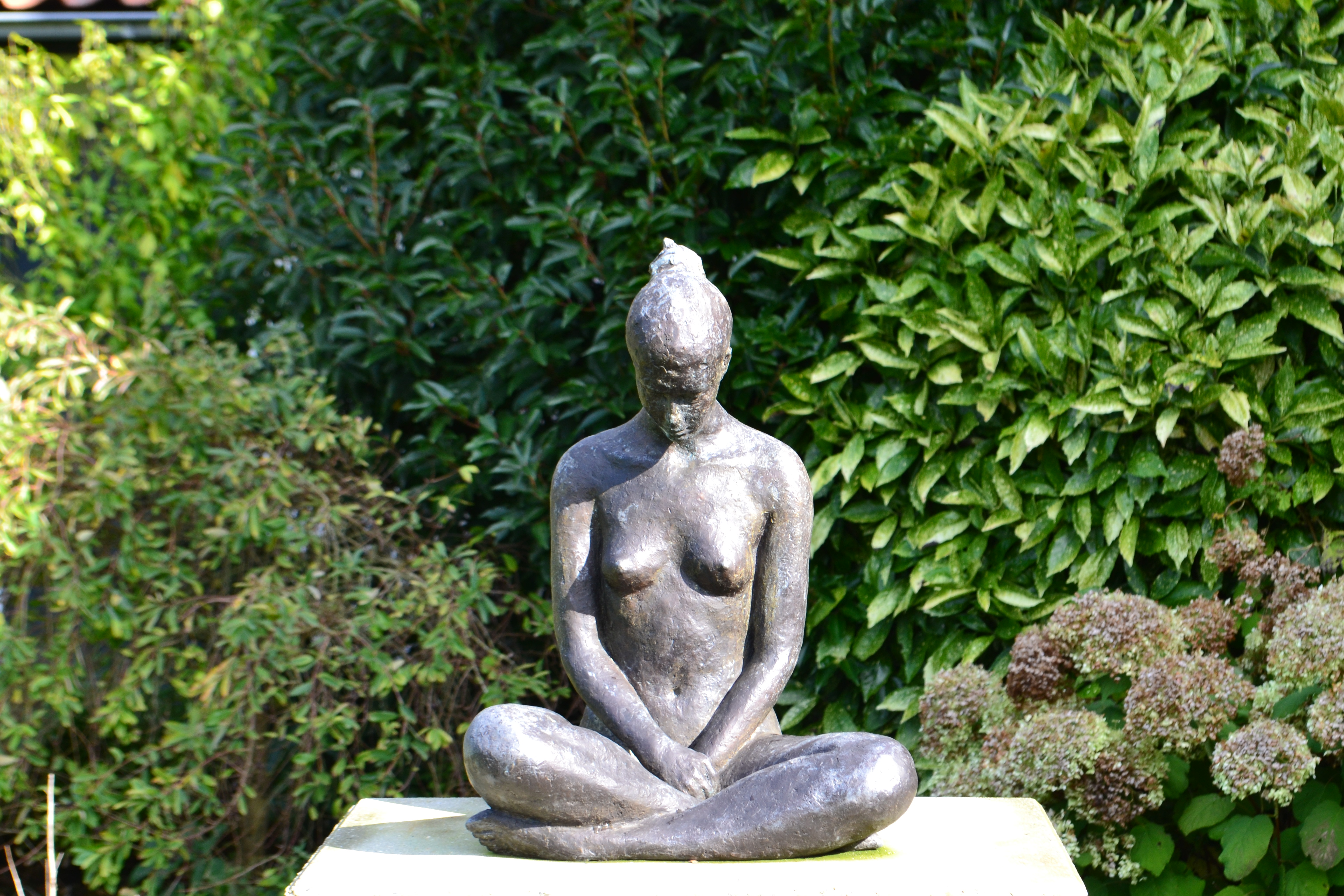 Yogaweekend Nederland lotushouding